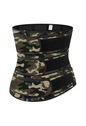 Camo Neoprene Waist TrainersBodyshaper Belt