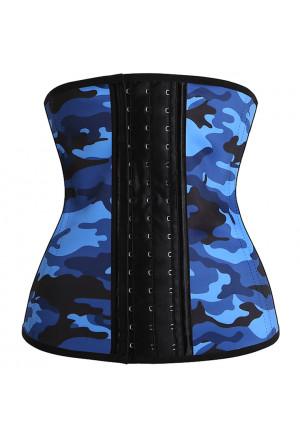 Sporty underbust latex waist training corset