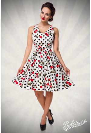 Stunning cherry retro dress Belsira