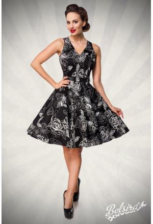 Stunning floral retro dress Belsira
