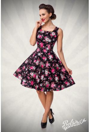 Romantic floral retro dress Belsira