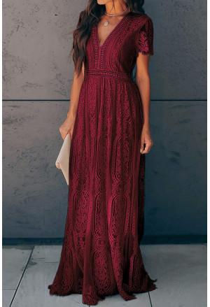 Bohemian maxi summer dress