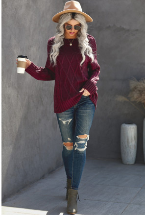 Oversize Thick Pullover Sweater