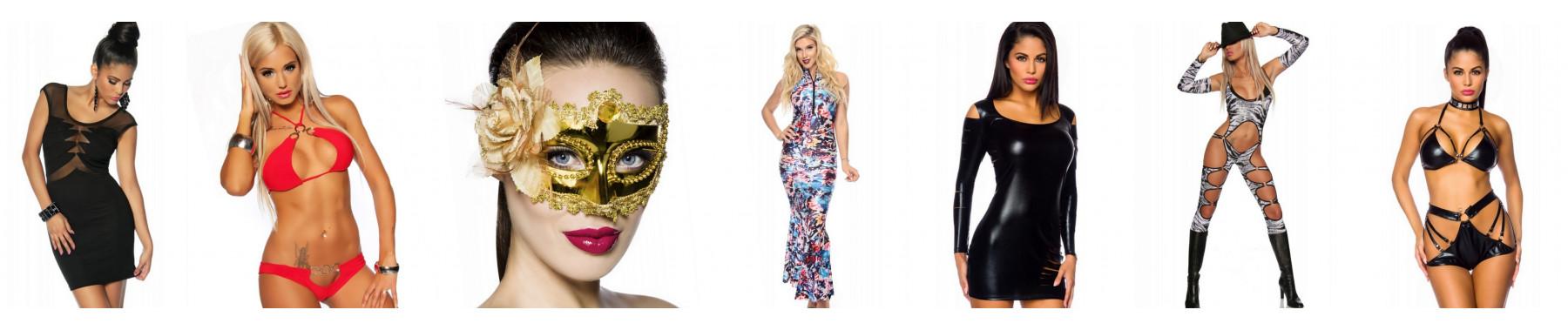 Clubwear, dance and gogo wear
